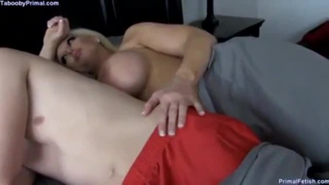 Watch Adult Mom and son share the same bed