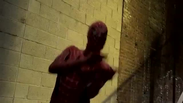 spiderman movie blowjob by jane in the ally