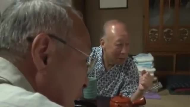 Japanese Teen Porn 3some Sexual Care Of Two Old Men