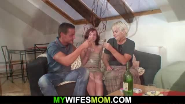 Old m.-in-law lures her boy