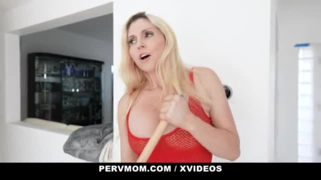Busty Milf Christie Stevens Enjoys Family Traditions With Her Stepson