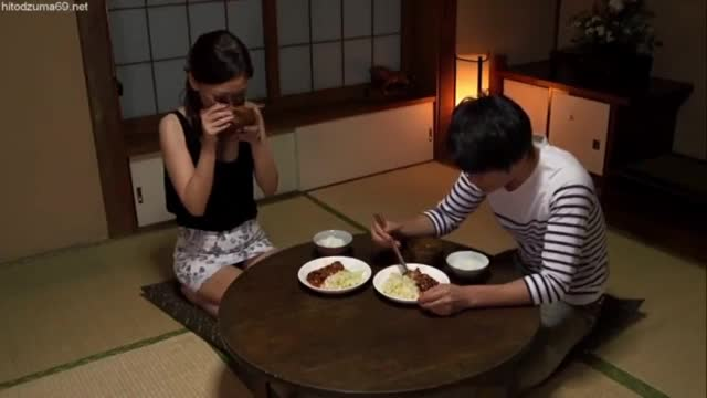 Japanese Mom And Son Clean